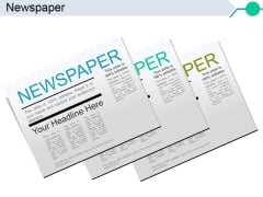 Newspaper Ppt PowerPoint Presentation Infographics Example