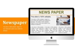 Newspaper Ppt PowerPoint Presentation Infographics Rules
