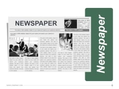 Newspaper Ppt PowerPoint Presentation Information
