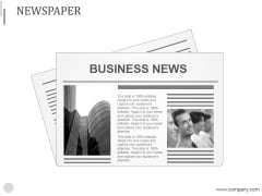 Newspaper Ppt PowerPoint Presentation Inspiration