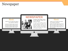 Newspaper Ppt PowerPoint Presentation Inspiration Template