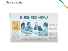 Newspaper Ppt PowerPoint Presentation Microsoft