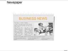 Newspaper Ppt PowerPoint Presentation Model Designs