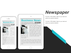 Newspaper Ppt PowerPoint Presentation Model Objects