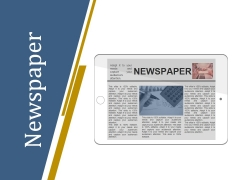 Newspaper Ppt PowerPoint Presentation Pictures Shapes