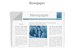 Newspaper Ppt PowerPoint Presentation Shapes