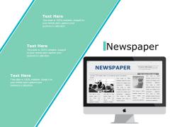 Newspaper Ppt PowerPoint Presentation Show Format Ideas