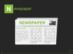 Newspaper Ppt PowerPoint Presentation Show Template