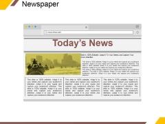 Newspaper Ppt PowerPoint Presentation Styles Design Inspiration