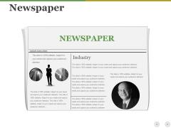 Newspaper Ppt PowerPoint Presentation Styles Show