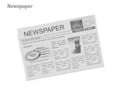 Newspaper Ppt PowerPoint Presentation Summary