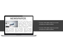 Newspaper Ppt PowerPoint Presentation Summary Template