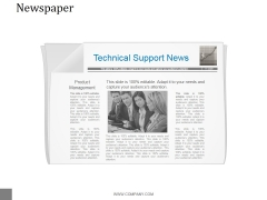 Newspaper Ppt PowerPoint Presentation Templates