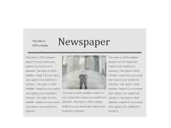 Newspaper Ppt PowerPoint Presentation Visual Aids