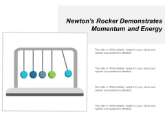 Newtons Rocker Demonstrates Momentum And Energy Ppt Powerpoint Presentation Infographics Designs Download