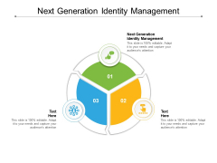 Next Generation Identity Management Ppt PowerPoint Presentation Gallery Guide Cpb Pdf