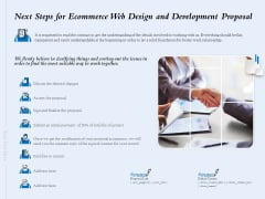 Next Steps For Ecommerce Web Design And Development Proposal Ppt Layouts Styles PDF