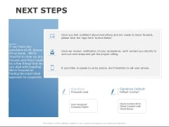 Next Steps Marketing Ppt PowerPoint Presentation Layouts Show