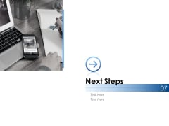 Next Steps Ppt PowerPoint Presentation Ideas Elements