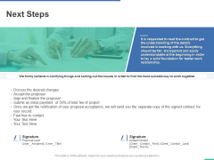 Next Steps Ppt PowerPoint Presentation Styles Graphics