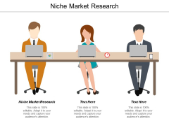 Niche Market Research Ppt PowerPoint Presentation Icon Example Cpb