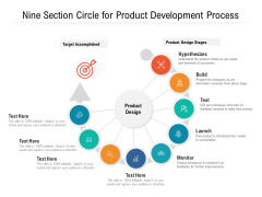 Nine Section Circle For Product Development Process Ppt PowerPoint Presentation Gallery Mockup PDF