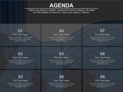Nine Steps For Building Hr Agenda Powerpoint Slides