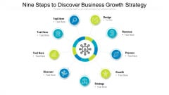 Nine Steps To Discover Business Growth Strategy Ppt Powerpoint Presentation Gallery Clipart Images PDF