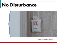 No Disturbance Wooden Door Door Handle Ppt PowerPoint Presentation Complete Deck