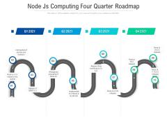 Node Js Computing Four Quarter Roadmap Brochure