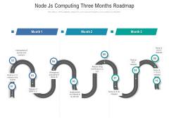 Node Js Computing Three Months Roadmap Summary