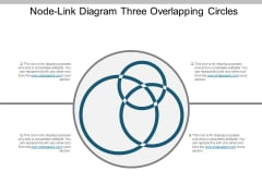 Nodelink Diagram Three Overlapping Circles Ppt PowerPoint Presentation Outline Inspiration