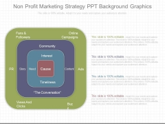 Non Profit Marketing Strategy Ppt Background Graphics