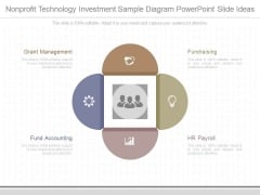 Nonprofit Technology Investment Sample Diagram Powerpoint Slide Ideas