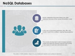 Nosql Databases Ppt PowerPoint Presentation File Examples