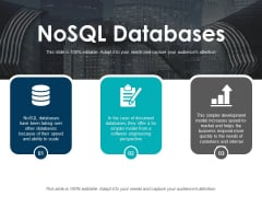 Nosql Databases Ppt PowerPoint Presentation Pictures Skills