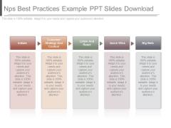 Nps Best Practices Example Ppt Slides Download