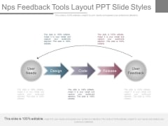 Nps Feedback Tools Layout Ppt Slide Styles