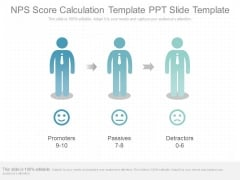 Nps Score Calculation Template Ppt Slide Template