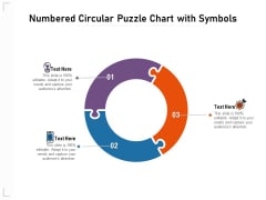 Numbered Circular Puzzle Chart With Symbols Ppt PowerPoint Presentation File Slide Download PDF