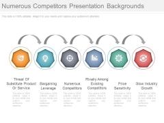 Numerous Competitors Presentation Backgrounds