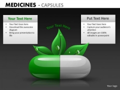 Natural Herbal Health Care PowerPoint Templates Ppt Slides