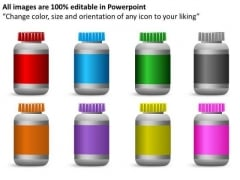 Nature Medical Bottle PowerPoint Slides And Ppt Diagram Templates