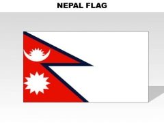 Nepal Country PowerPoint Flags