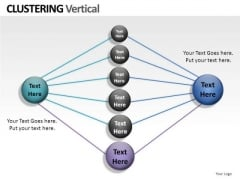 Net Clustering Vertical PowerPoint Slides And Ppt Diagram Templates