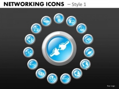 Network Plugin Icons PowerPoint Templates Editable Ppt Slides