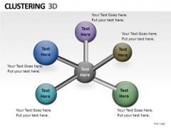 Networking Clustering 3d PowerPoint Slides And Ppt Diagram Templates