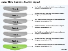 New Business PowerPoint Presentation Process Layout Flow Chart Maker Free Slides