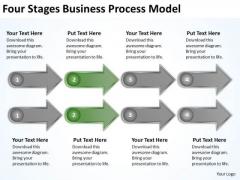 New Business PowerPoint Presentation Process Model Plans Slides