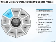 New Business Strategy Circular Demonstration Of Process Expansion